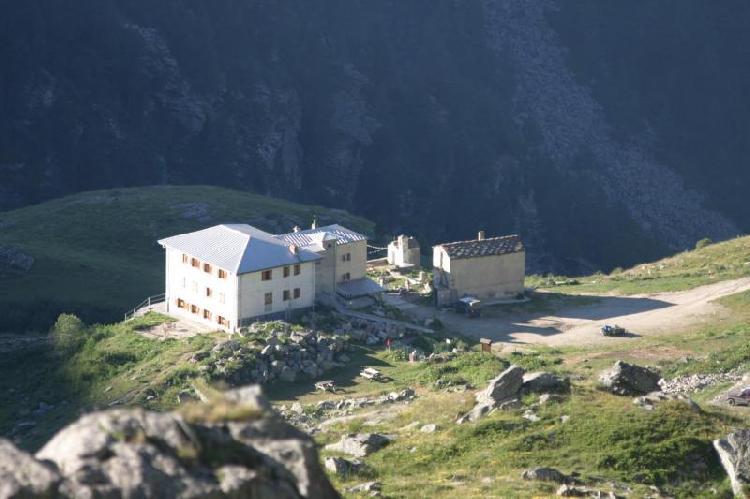 Rifugio Selleries - Vista dalla partenza della tappa 3